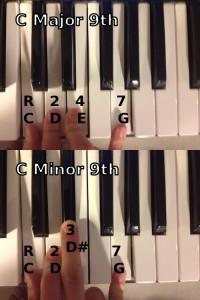 C Major 9 & C Minor 9